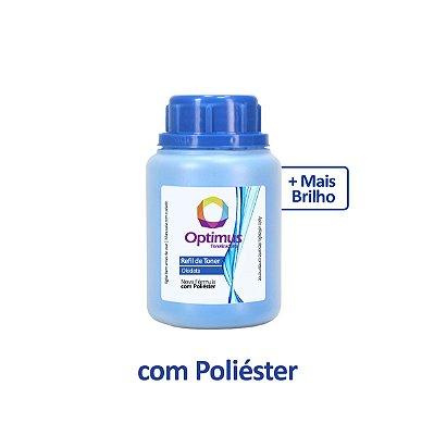 Refil de Pó de Toner Okidata MC160n | C110 | 44250711 Optimus Ciano 30g