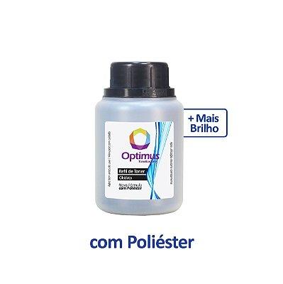 Refil de Pó de Toner Okidata B401 | B401dn | B401d | 44992402 Optimus Preto 100g + Dosador