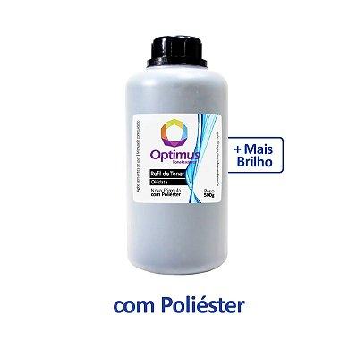 Refil de Pó de Toner Okidata B401 | B401dn | B401d | 44992402 Optimus Preto 500g