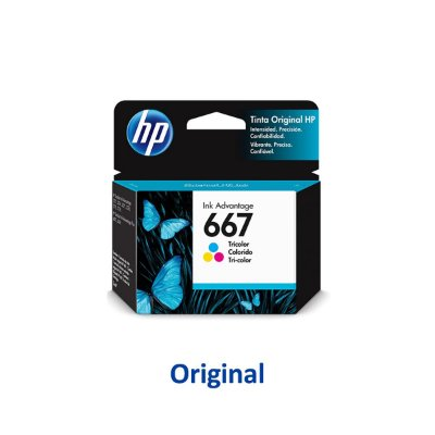 Cartucho HP 667 | 3YM78AL | HP 667 Colorido Original 2ml