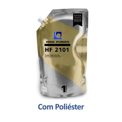 Refil de Pó de Toner Samsung SCX-3405W | SCX-3405 | HF2101 Poliéster High Fusion 1kg