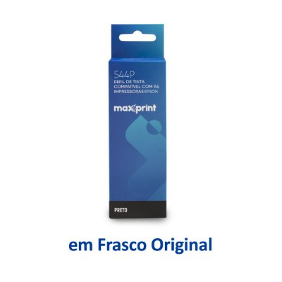 Tinta Epson L3150 EcoTank | T544120 | 544 | L3150 Maxprint Preta 70ml