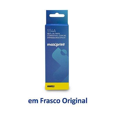 Tinta Epson L3150 EcoTank | T544420 | 544 | L3150 Maxprint Amarela 70ml