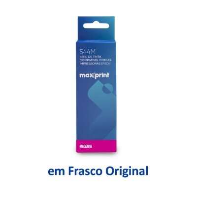 Tinta Epson L3150 EcoTank | T544320 | 544 | L3150 Maxprint Magenta 70ml