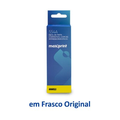 Tinta Epson L3110 EcoTank | T544420 | 544 | L3110 Maxprint Amarela 70ml