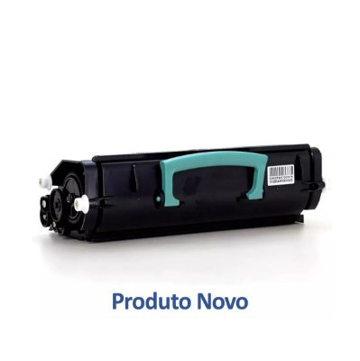 Toner Lexmark E460 | E460DN | E460 Laser Preto Compatível para 15.000 páginas