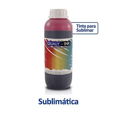 Tinta Epson L4160 EcoTank | T504320 | 504 | L4160 Sublimática Qualy Ink Magenta 1 litro