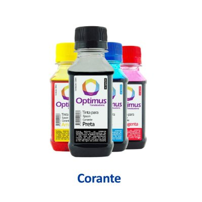 Kit de Tinta Epson XP-214 | 194 | 196 | 197 Expression Optimus Preta + Coloridas 100ml