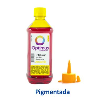 Tinta Epson L4150 | T504420 | 504 EcoTank Optimus Pigmentada Amarela 500ml