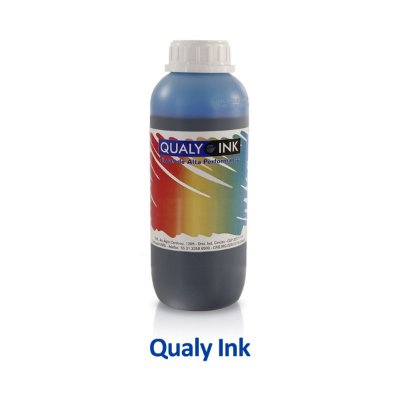 Tinta Epson L495   T664220   664   EcoTank Qualy Ink Ciano 1 litro