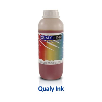 Tinta Epson L495 | T664420 | 664 | EcoTank Qualy Ink Amarela 1 litro