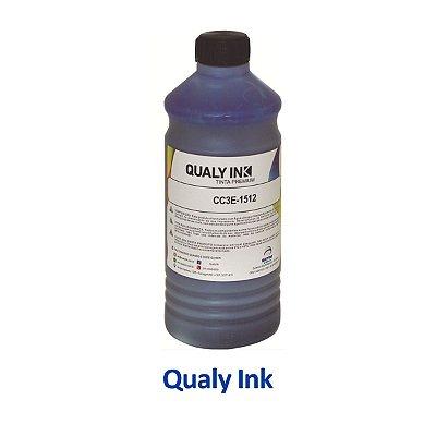 Tinta Epson L656   T664220   664   EcoTank Qualy Ink Ciano 1 litro