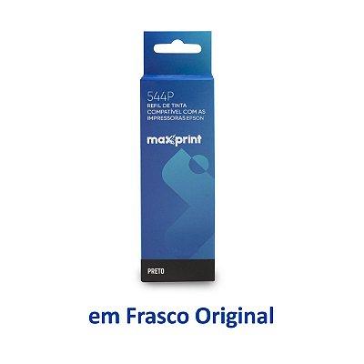 Tinta Epson L3160 EcoTank | T544120 | 544 | L3160 Maxprint Preta 70ml
