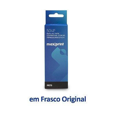 Tinta Epson L14150 EcoTank | T504120 | 504 | L14150 Maxprint Preta 127ml