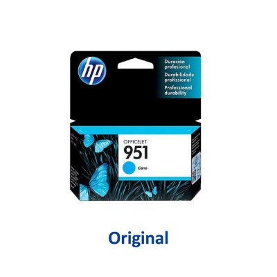 Cartucho HP 951 | CN050AB | 951 Officejet Ciano Original 8ml