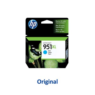Cartucho HP 951XL | CN046AB | HP 951XL Officejet Ciano Original 17ml