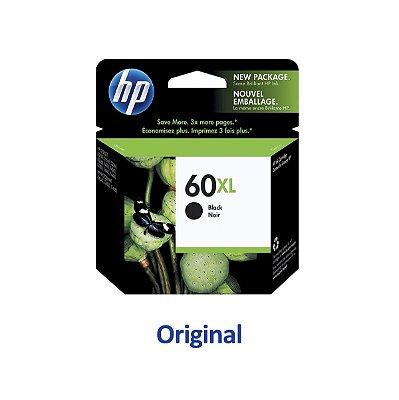 Cartucho HP 60XL   CC641WB   HP F4580 Deskjet Preto Original 13,5ml