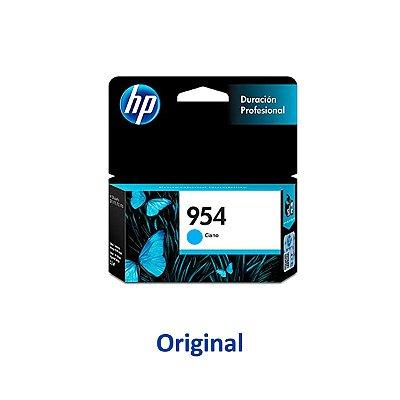 Cartucho HP 8210 | L0S50AB | 954 Officejet Pro Ciano Original 10ml