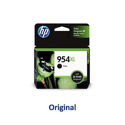 Cartucho HP 954XL   L0S71AB   HP 954XL Officejet Pro Preto Original 42,5ml