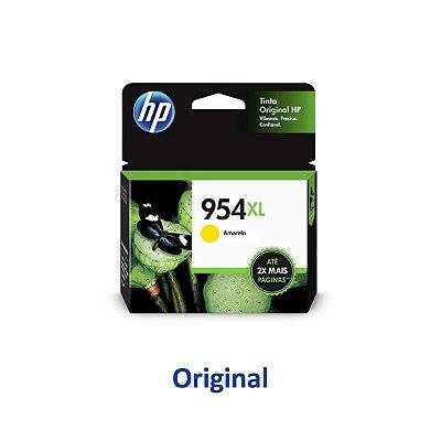 Cartucho HP 954XL   L0S56AB   HP 954XL Officejet Pro Amarelo Original 20ml