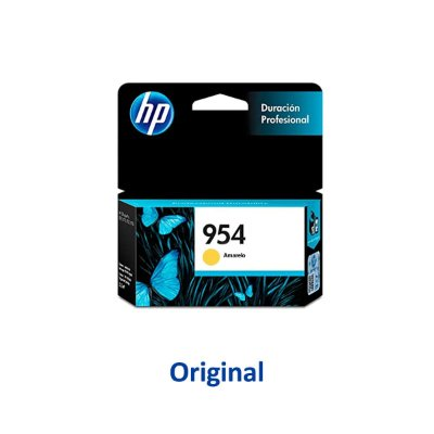 Cartucho HP 954 | L0S56AB | 954 Officejet Pro Amarelo Original 10ml