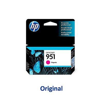 Cartucho HP 8100 | 8620 | HP 951 | CN051AB Officejet Magenta Original 8ml