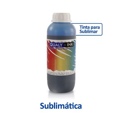 Tinta Epson L495 | T664220 | 664 EcoTank Sublimática Qualy Ink Ciano 1 litro