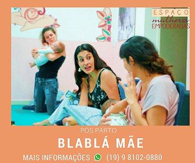 Blablamãe - Roda de conversa pós-parto