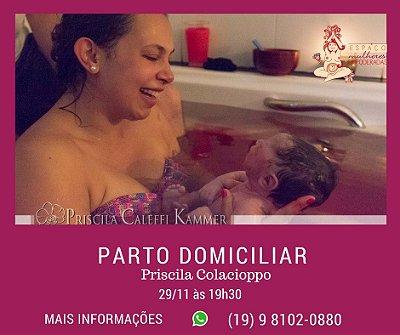 29/11 - Parto Domiciliar