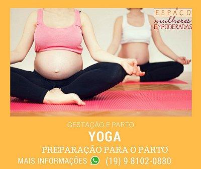Yoga Gestante - Preparação para o parto, Respiração e posições. Toda quinta-feira.