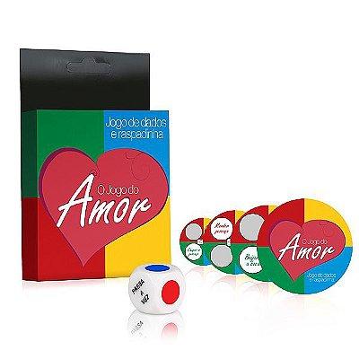 Jogo do Amor - Jogo de dados com Raspadinhas (AE-LD021)