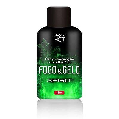 FOGO E GELO - Spirit - Óleo para massagem beijável - 38ml (AE-CO308)