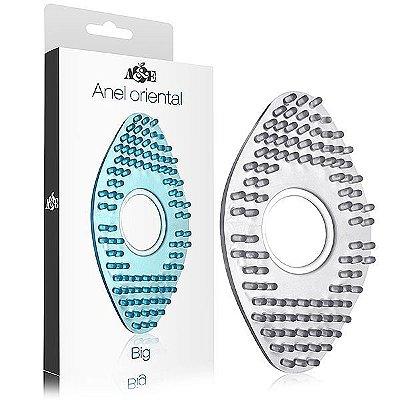Anel Oriental Grande em silicone - Transparente (AE-AC004T)