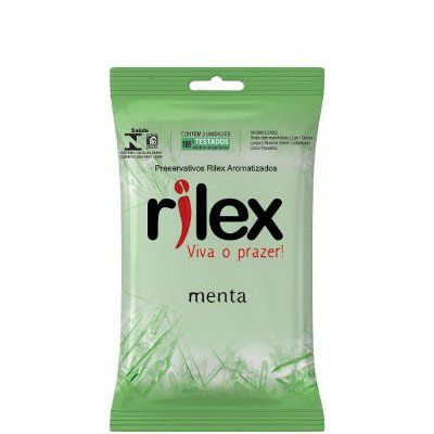 Preservativo Rilex® Aromatizado - Menta (KI-RL007)