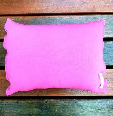 Travesseiro para Praia/Piscina Rosa
