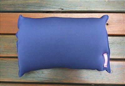 Travesseiro para Praia/Piscina Azul Marinho
