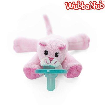 WubbaNub: A chupeta mais fofa que existe! - Gata Rosa (Pink Kitty)