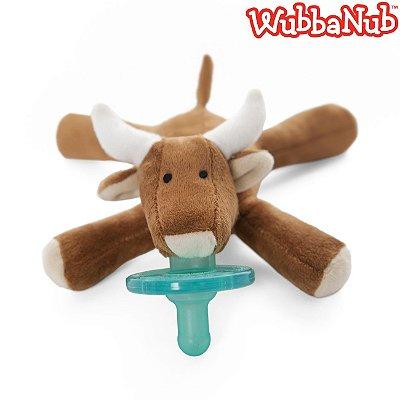 WubbaNub: A chupeta mais fofa que existe! - Touro (Longhorn Bull)
