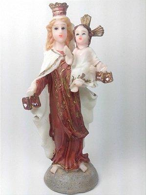 Imagem Nossa Senhora do Carmo 12,5 cm de resina