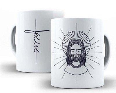 CANECA JESUS CRISTO