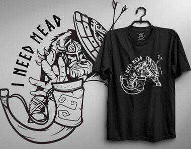 Camiseta - I Need Mead