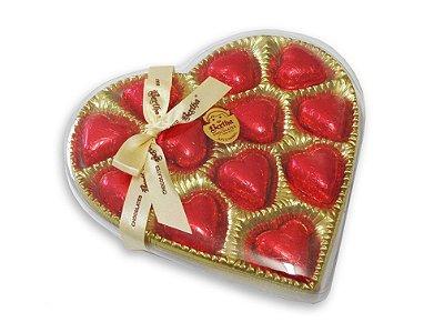 Caixa Coração Acetado 100g