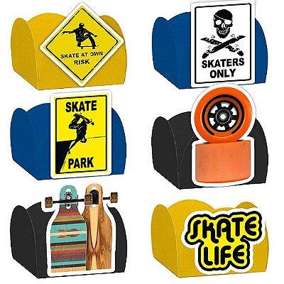 Forminha para Doces Festa Skate - Sortido - 24 Unidades - Lembrafesta