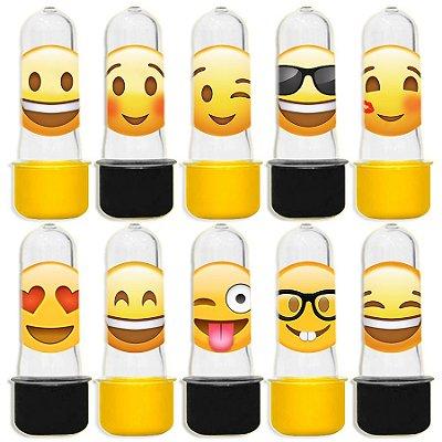 Mini Tubete para Lembrancinha Festa Emoji - Sortida - 20 unidades - Lembrafesta