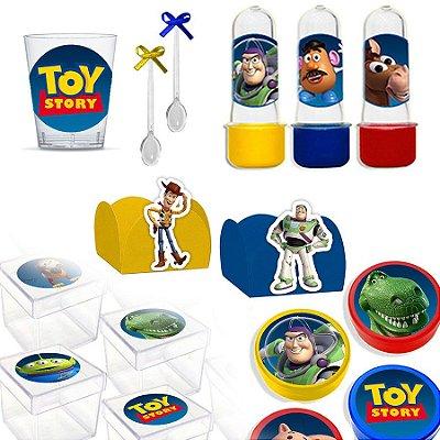 Kit Lembrancinhas Festa Toy Story para 30 Convidados - 200 Itens - Lembrafesta