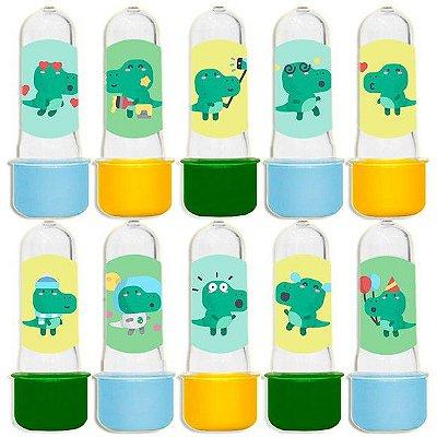 Mini Tubete para Lembrancinha Festa Dinossauro Baby - Sortida - 20 unidades - Lembrafesta