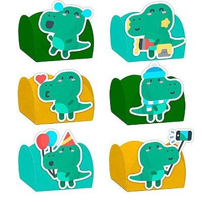 Forminha para Doces Festa Dinossauro Baby - Sortido - 24 Unidades - Lembrafesta