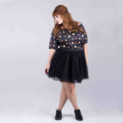 Blusa Girl Power Plus Size