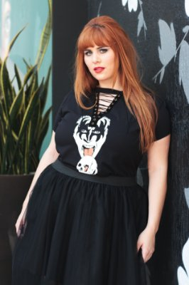 T-shirt Choker Gene Simmons - Plus Size
