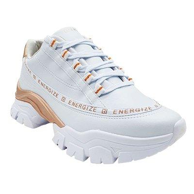 Tênis Feminino Chunky Ramarim Cadarço Dad Sneaker Energize